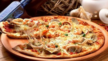 Pizza Fruits de mer